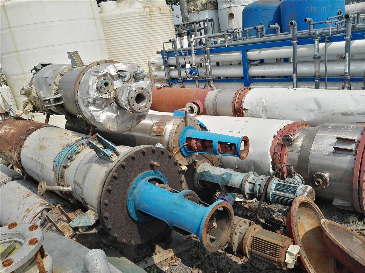 湖北工厂12平方二手旋转式薄膜蒸发器转让