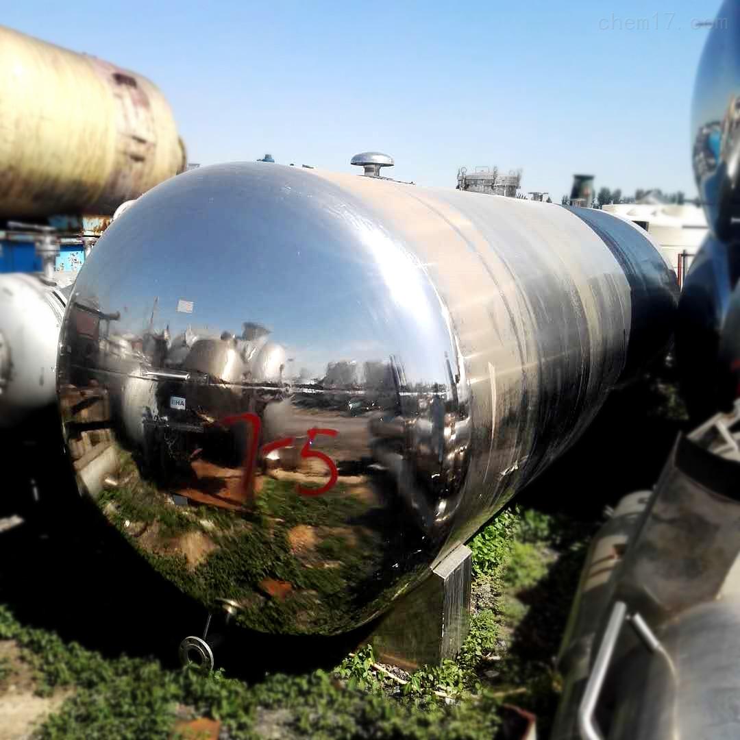 供应15立方316材质卧式不锈钢储罐