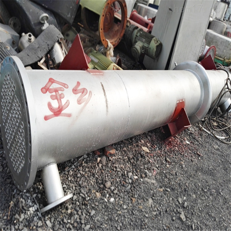 吉林八成新20平方二手高压列管冷凝器