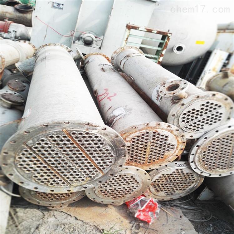 宁波工厂150平方二手列管式高压冷凝器