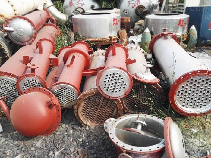 福州八成新300平方列管式二手不锈钢冷凝器