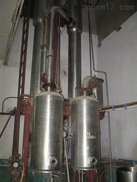 专业回收双效8吨强制循环蒸发器价格