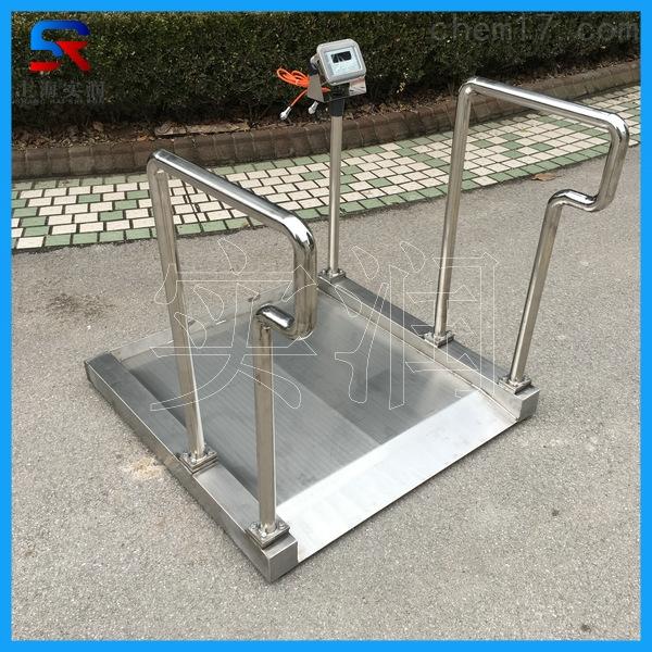 304不锈钢材质防水防腐蚀电子轮椅称