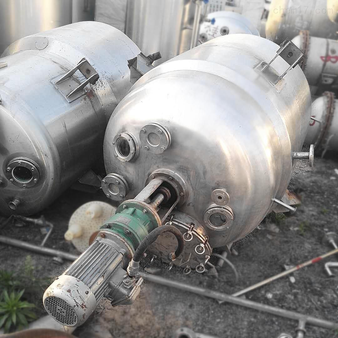 药厂转让3000升3立方二手不锈钢中药醇沉罐