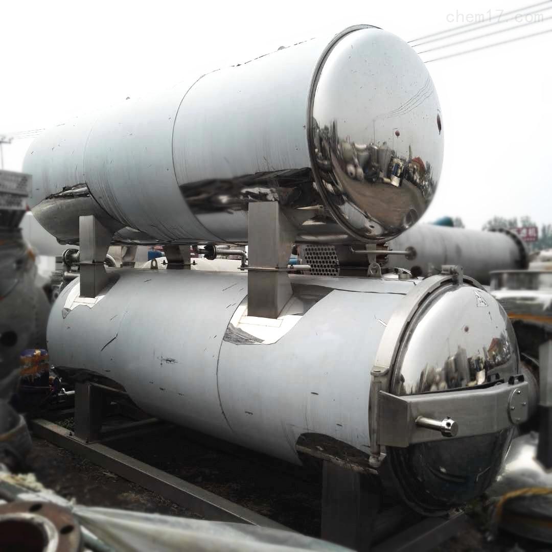 库存4.5立方水浴式杀菌锅17年产丰盛机械