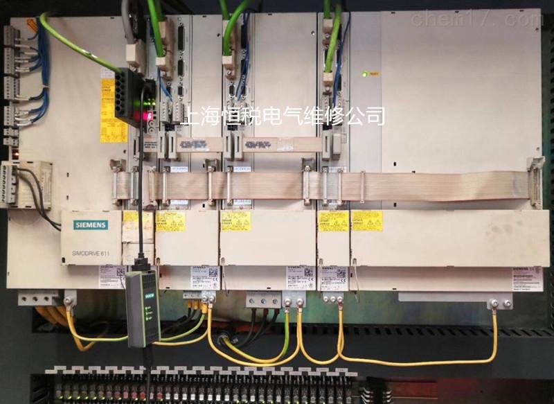 数控立式镗床西门子伺服控制器坏修理诊断