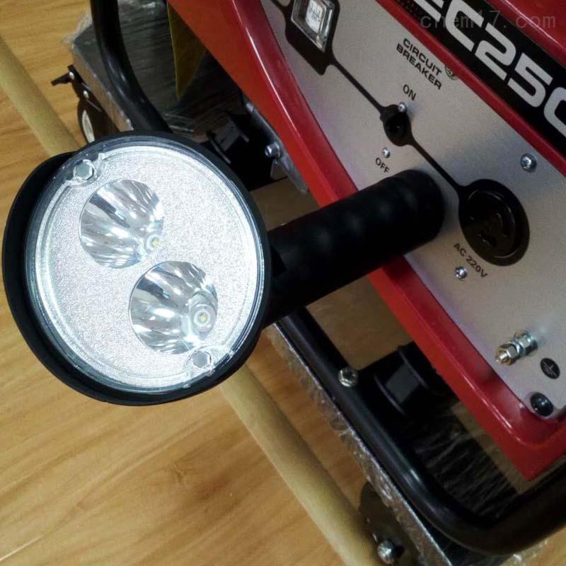 吸力吸盘底座强光防爆手电LED6瓦双灯珠