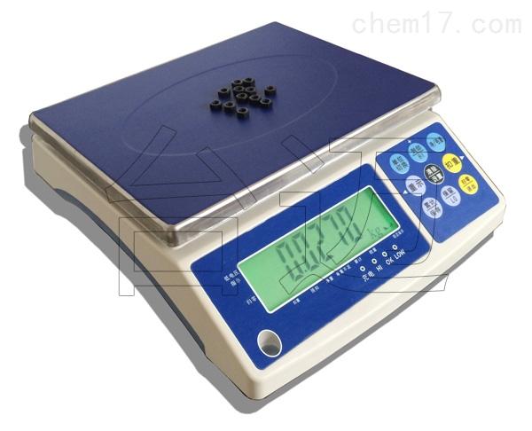 3kg带打印功能三色灯检重电子计重秤