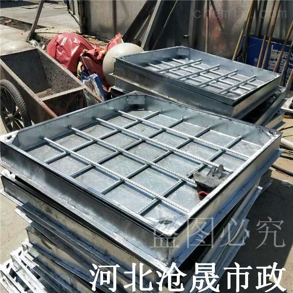 沧州不锈钢井盖——铺砖井盖—304隐形井盖