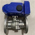 Q941F电动不锈钢调节球阀