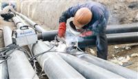 DN450直埋式保温管焊接措施