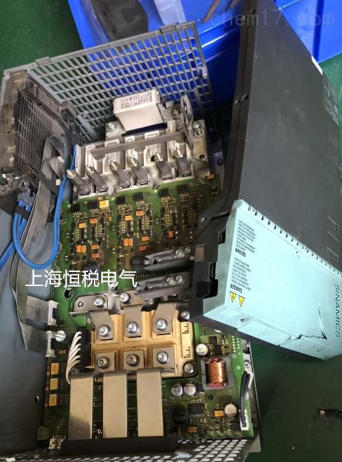 西门子系统报207800没有功率部件-当天修复