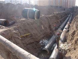 直埋式保温管供热管网布置规程