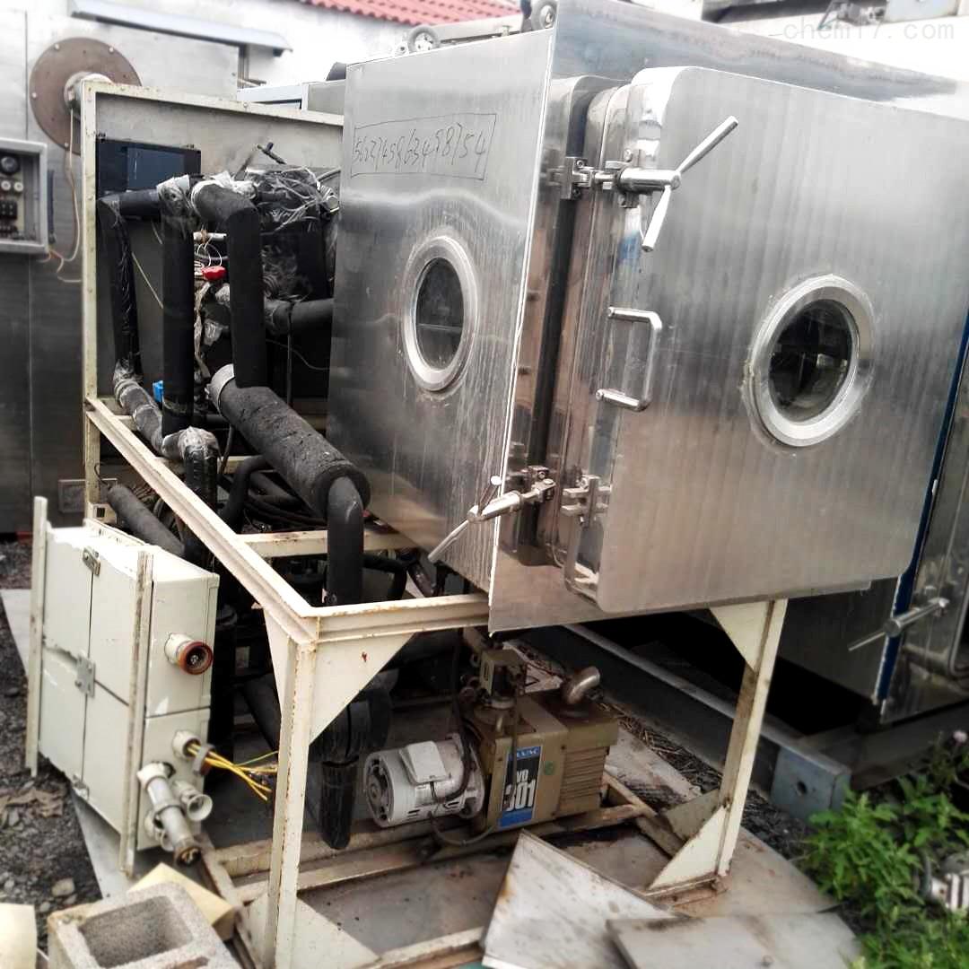 湖南工厂转让5平方二手真空冷冻干燥机