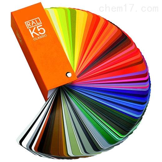 RAL色卡劳尔标准K5色卡