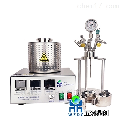 WZC100磁力釜高精密实验室反应釜水热釜高压釜