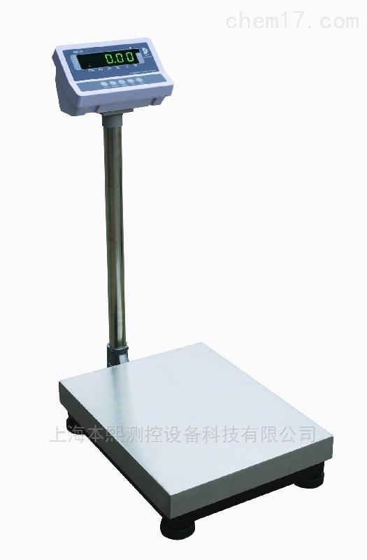 300kg上海本熙304不锈钢工业电子平台秤