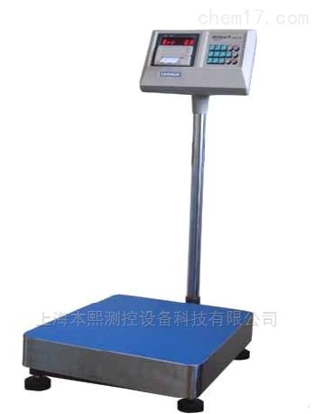 200kg工厂车间带称重数据打印电子台秤