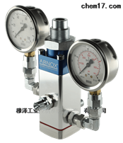 High Pressure 3239222瑞士ABNOX夹紧技术带手表的单手泵阀3239222