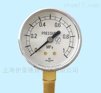 日本山本计器压力表