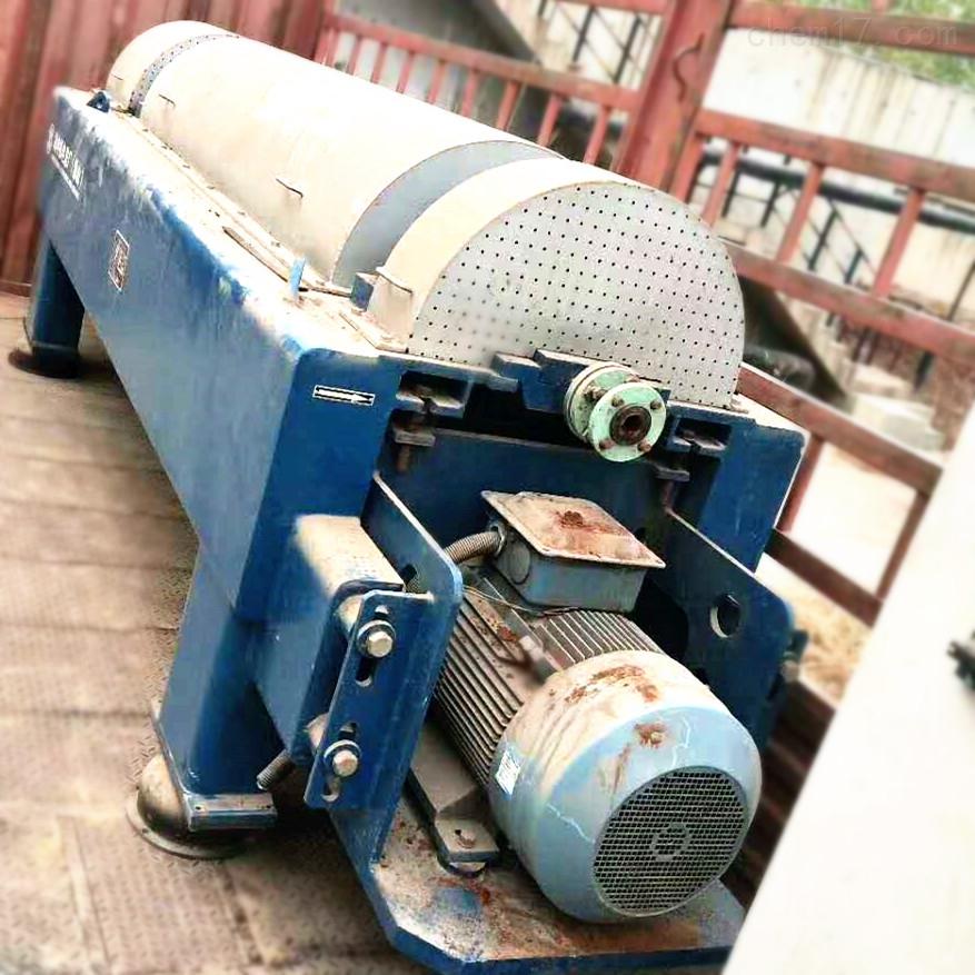 出售400型污水处理二手卧螺离心机定金