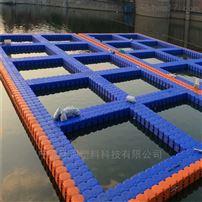 BT001水上浮桥平台浮筒高分子聚乙烯浮體