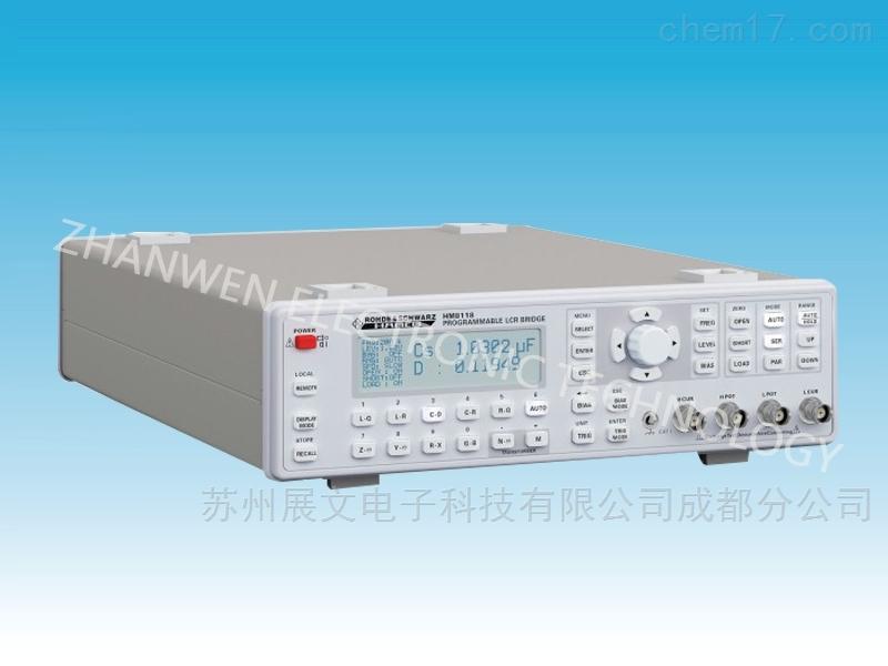德国罗德与施瓦茨可编程LCR电表HM8118系列