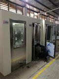 JH-FLS-1200广州市花都区单人全自动语音风淋室