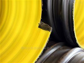 超大口径排污钢带排污管 PE钢带波纹管