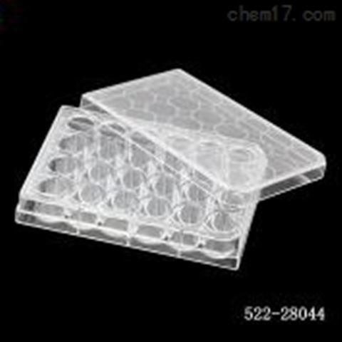 24孔帶蓋細胞培養板,懸浮,平底