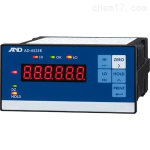 AND仪表日本AD-4531B模拟D/A输出显示器