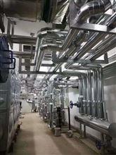 搅拌站热水管道铁皮保温施工工艺