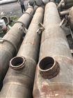 25吨二手三效钛材质蒸发器工厂紧急处理