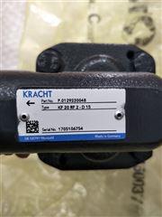 KF80RF2-D15KRACHT齿轮泵适应中小压力