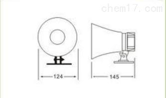BJ-20A高分贝报警扬声器喇叭专用
