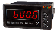 ACM廠牌雙輸出交流電壓表