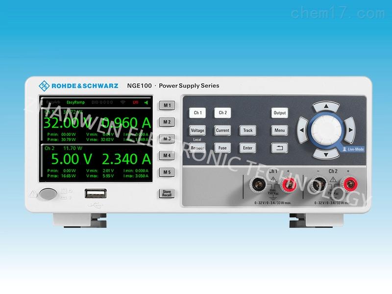 德国RS罗德与施瓦茨直流电源NGE100系列