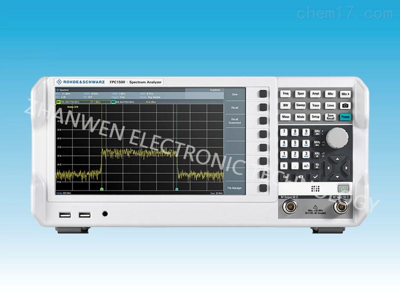 德国RS罗德与施瓦茨频谱分析仪FPC1000系列