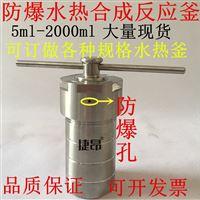 KH防爆型水热合成反应釜25ml-500ml