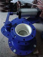 BZ643TC气动耐磨陶瓷摆动阀