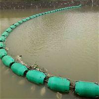 内河拦污浮筒搭配航标效果更好
