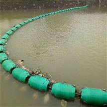200*1000内河拦污浮筒搭配航标效果更好