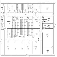 HZD11-71山西動物性實驗室動物房間的設計施工