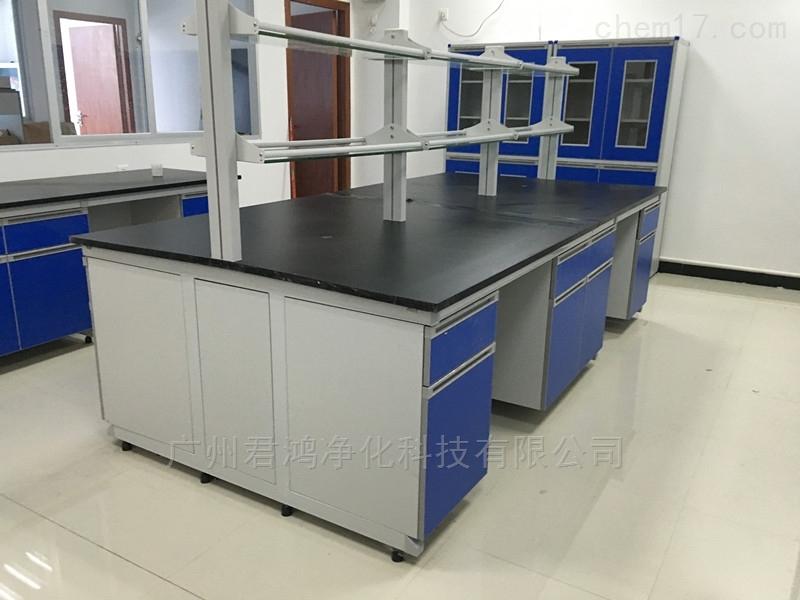 广州番禺化学实验室钢木边台中央台
