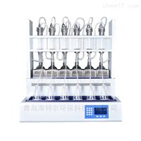 HT-108B挥发酚青化物氨氮凯氏氮全自动蒸馏装置