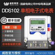 威勝電表-長沙威勝DDS102單相電子式電能表