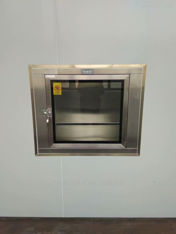 广州白云区厂家直供机械互锁全304传递窗