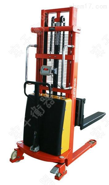 厂家定制带秤堆高车,全电动堆高电子秤