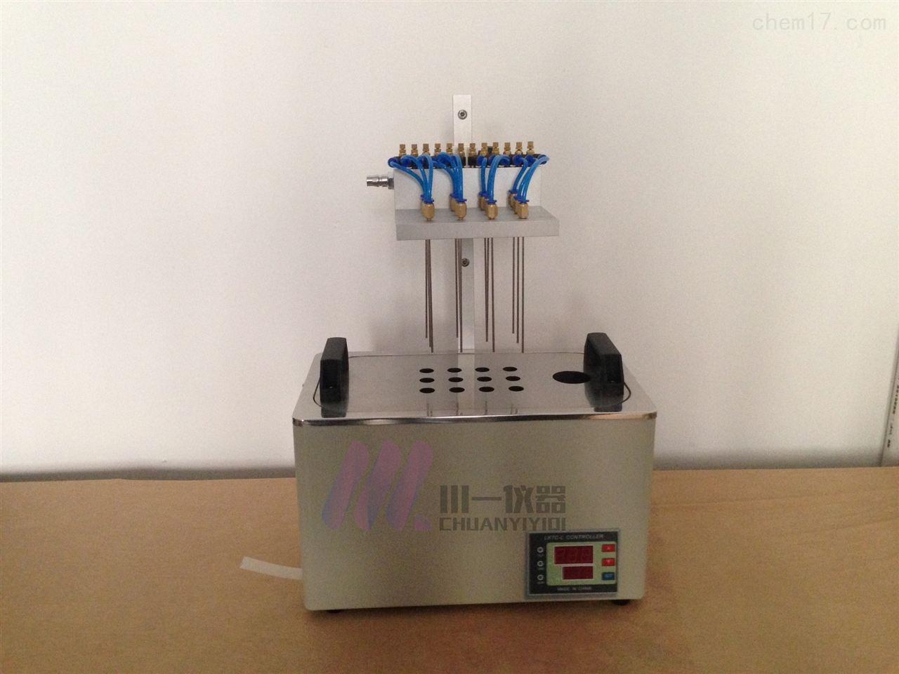 重庆方形水浴氮吹仪CY-DCY-12SL样品浓缩仪
