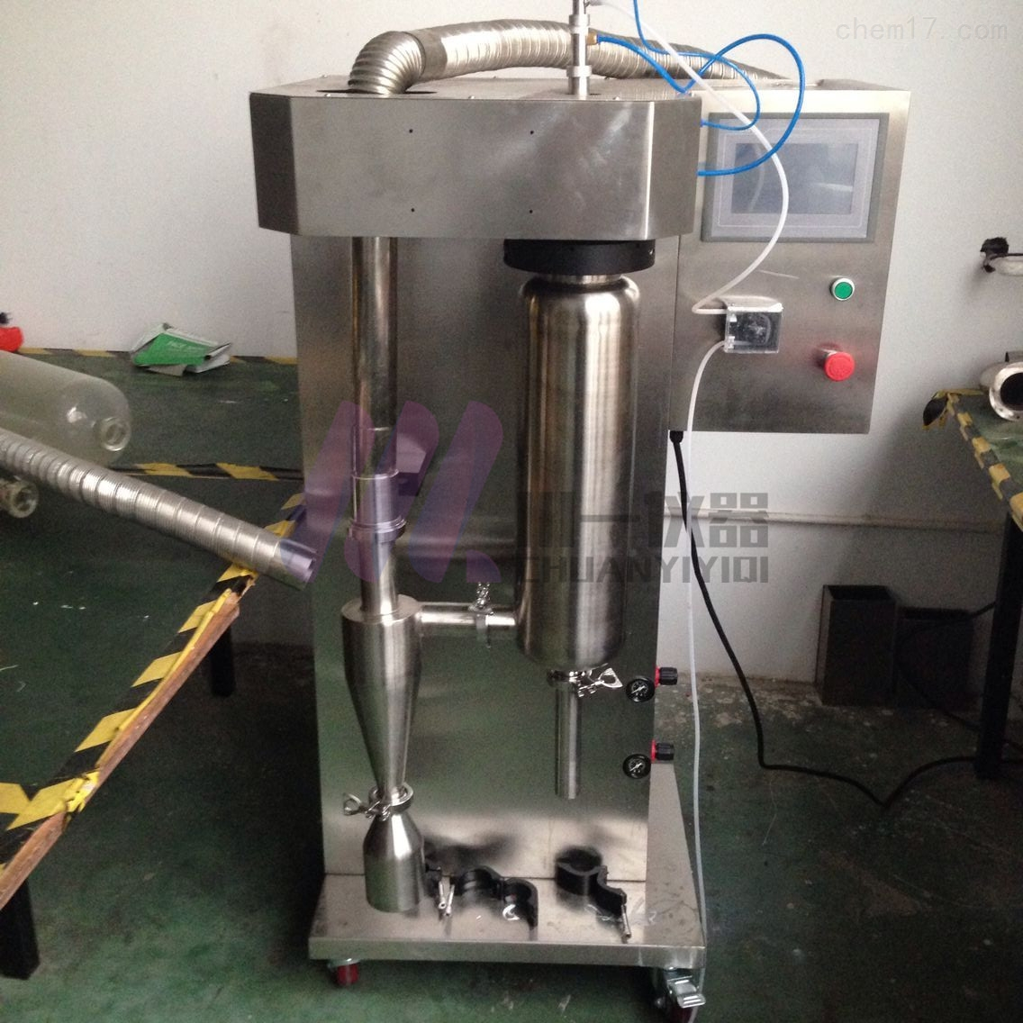 高温喷雾干燥机CY-8000Y水溶液喷雾造粒机